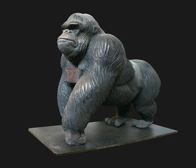 Stefano Bombardieri, 'Gorilla Debout Countdown', 2009