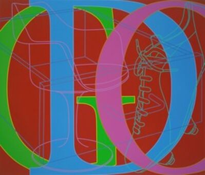 Michael Craig-Martin, 'Untitled (GOD)', 2007