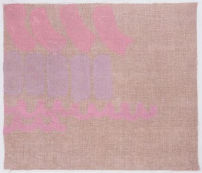 Giorgio Griffa, 'Tre colori', 1980