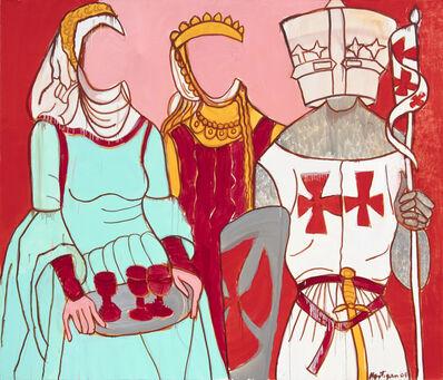 Grace Hartigan, 'Medival Costumes', 2004