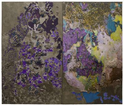 Naomi Safran-Hon, 'Wadi Salib: Interior Landscape (Purple Wall)', 2013