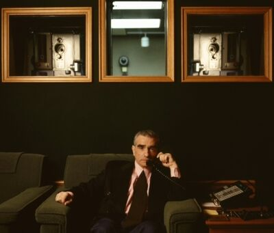 Lynn Goldsmith, 'Martin Scorsese, Screening Room', 1995