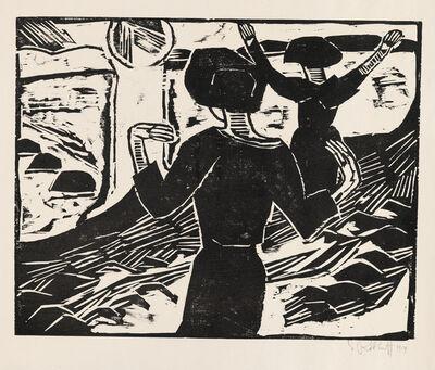 Karl Schmidt-Rottluff, 'The Sun', 1914