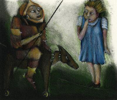 Ana Maria Pacheco, 'Don Quijote y Dulcinea 1-6', 1994