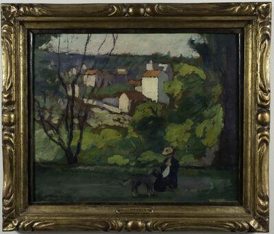 Henri Ottman, 'Paysage a Vernon', ca. 1920