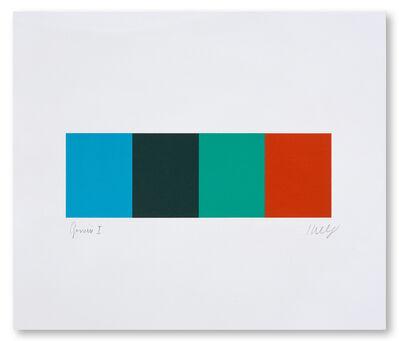 Ellsworth Kelly, 'Blue Gray Green Red', 2008
