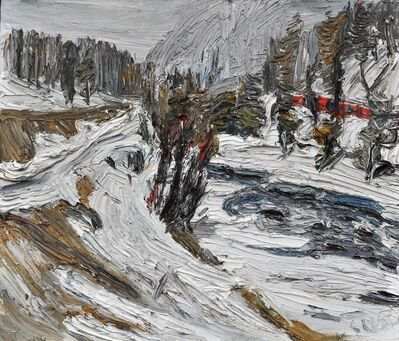 Christopher Lehmpfuhl, 'Winterbach, Engadin', 2015