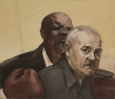 Egle Karpaviciute, 'Untitled. Mike Tyson ir Damien Hirst ', 2018
