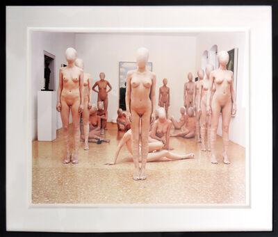 Vanessa Beecroft, 'Guggenheim Venice Italy', 2001