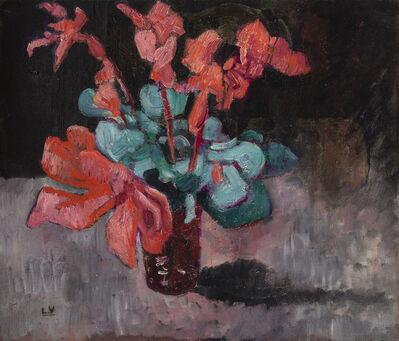 Louis Valtat, 'Fleurs rouges', ca. 1930
