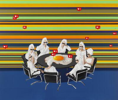 Han Yajuan 韩娅娟, 'Round Table (圆桌会议) ', 2019
