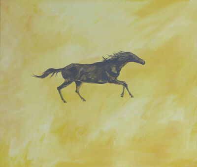 Chen I-Chun, 'A Pony Running in a Sunset', 2018