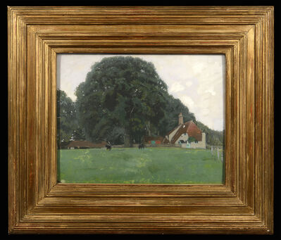 William Nicholson, 'Farm House and Trees, Brittenden', 1900-1940