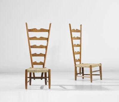 Gio Ponti, 'Pair of fireplace chairs', circa 1939