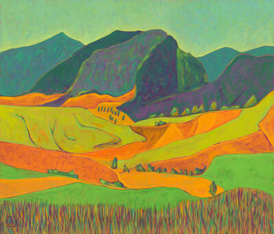 K.L. McKenna, 'Stone Mountain from Above', 2013