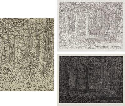 Alan Turner, 'Black Landscape/White Landscape; Black Landscape/White Landscape; and Numerical Landscape', 1978; and 1979