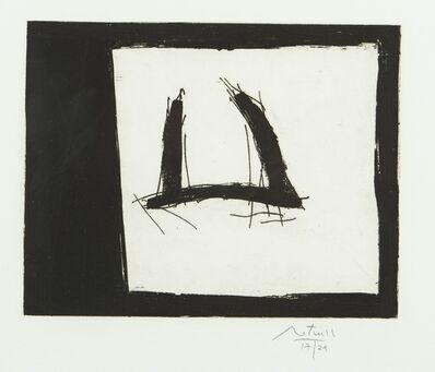 Robert Motherwell, 'Black Open', 1985