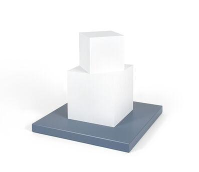 Sol LeWitt, 'Cube on a Cube', 2005