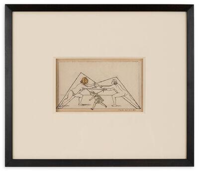 Max Ernst, 'Lettrine M', 1958