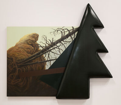 Lynn Aldrich, 'Evergreen (Fragment After Casper David Friedrich)', 1987