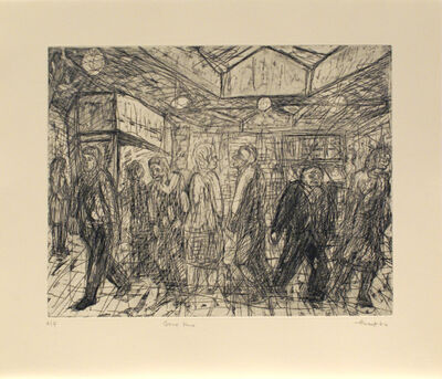 Leon Kossoff, 'Going Home', 1984