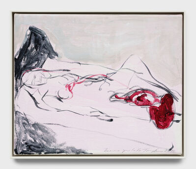 Tracey Emin, 'Because you left', 2017
