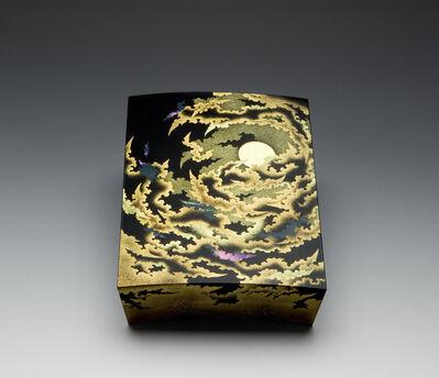 "Yoshio Okada, '""Cloud Energy, Moon Spirit"" Maki-e Lacquer Box (T-3533)', 2009"