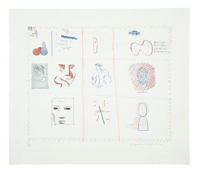 David Hockney, 'Franco-American Mail (M.C.A. Tokyo 182)', 1976-77