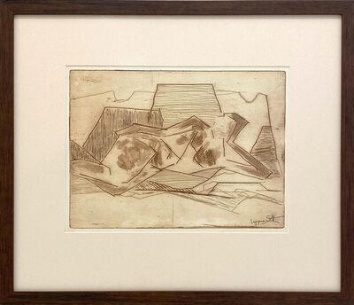 Janet Lippincott, 'Reclining Nude', 1957
