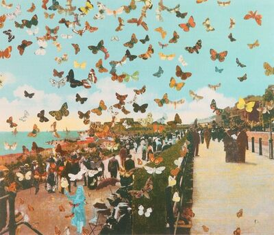 Peter Blake, 'Homage to Damien Hirst, Eastbourne', 2011