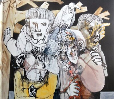Sergio Moscona, 'Night flowers', 2015