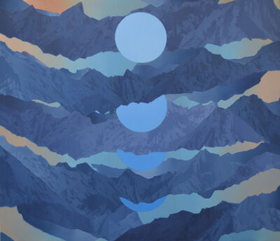 Beau Carey, 'Blue Moon', 2020