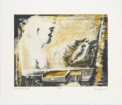 John Byrne, 'Head, Drawer, Fish', 2007