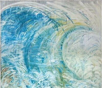 Pat Steir, 'The Wave After Hokusai', 1986