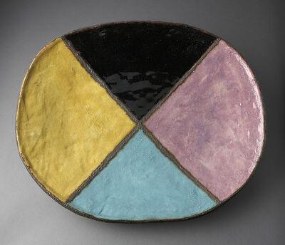 Jun Kaneko, 'Untitled Platter', 1982