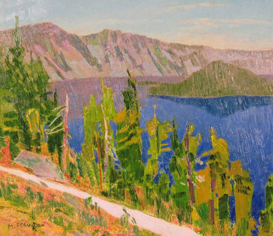 Mike Ferguson, 'From The Lodge at Crater Lake', ca. 2014