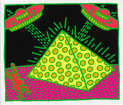 Keith Haring, 'Untitled (Fertility #2)', 1983