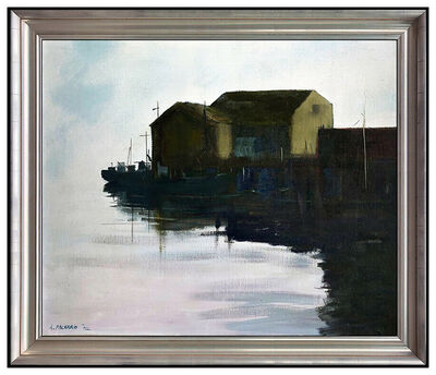 Anne Packard, 'Anne Packard Large Original Oil Painting on Canvas Water Landscape Signed Art', 2002