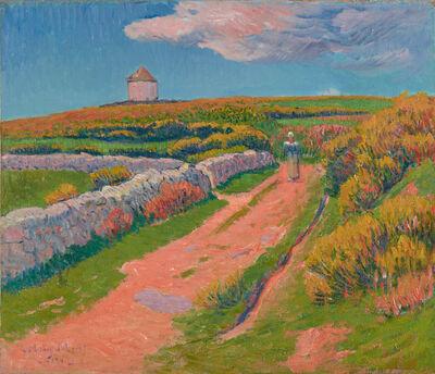 Henry Moret, 'Le Chemin Rose', 1894
