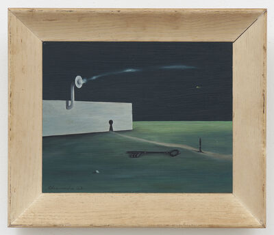 Gertrude Abercrombie, 'The Enormous Key', 1963