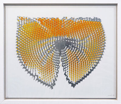 Heinz Mack, 'Lichtwirbel', 1973
