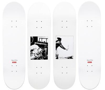 Raymond Pettibon, 'Raymond Pettibon Supreme skate decks', 2014