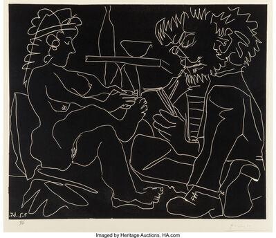 Pablo Picasso, 'Le Peintre et Son Modele (The Painter and the Model)', 1965