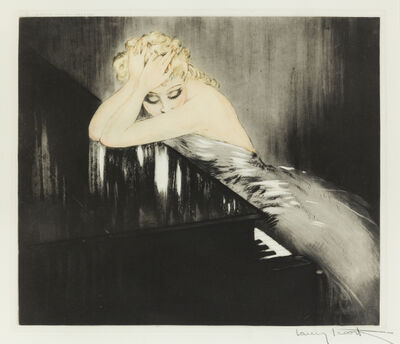 Louis Icart, 'Waltz Dream', 1938
