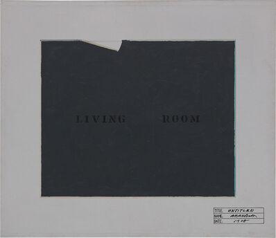 Shusaku Arakawa, 'Untitled', 1968
