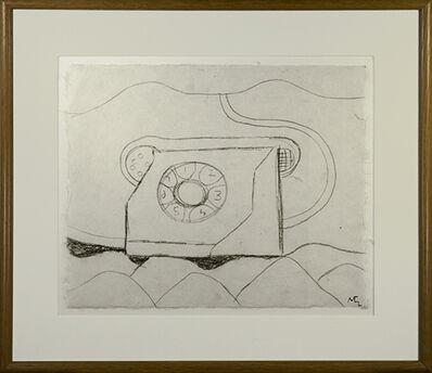 Miguel Castro Leñero, 'Telephone in Landscape (Teléfono de México)', 1991
