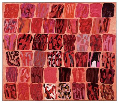 Pietro Consagra, 'Fondo rosa (Quarantotto immagini)', 1984