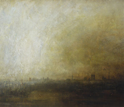 Benjamin Warner, 'Primrose Hill, Towards the City', 2017