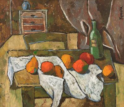 Christa Kirova, 'Still life with fruits', 2020