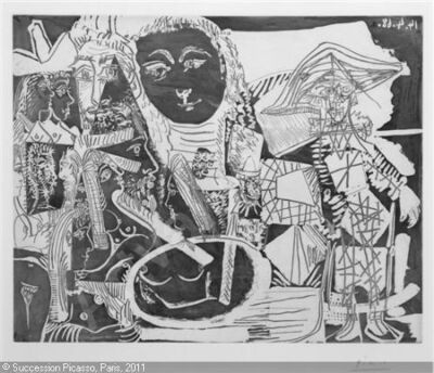 Pablo Picasso, 'Plate 37', 1970